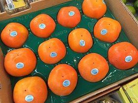 ニュージー産の柿