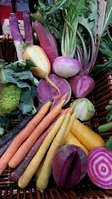 TSUKASAの野菜は彩重視