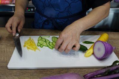 こだわり野菜のメニュー提案