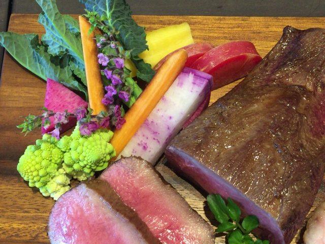 肉料理 こだわり野菜