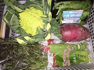 季節限定の「こだわり野菜」