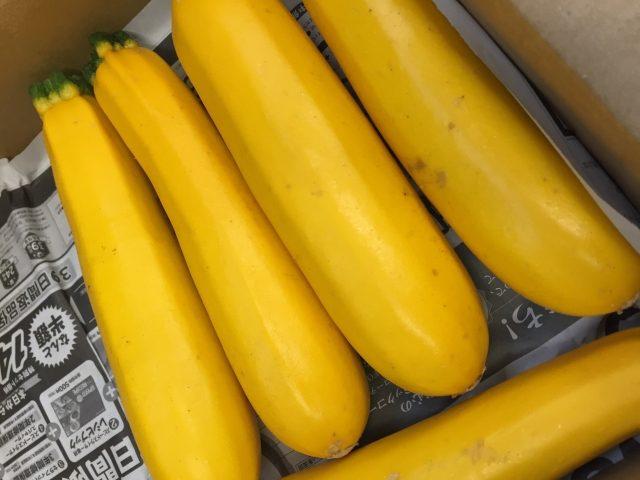 黃ズッキーニ